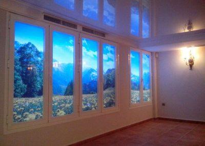 imagen 3D ventana