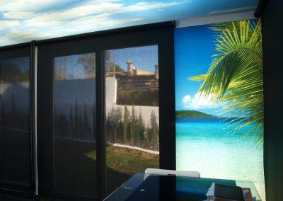 imagen ventana pared 3D