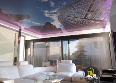 montajes atari techos 3D